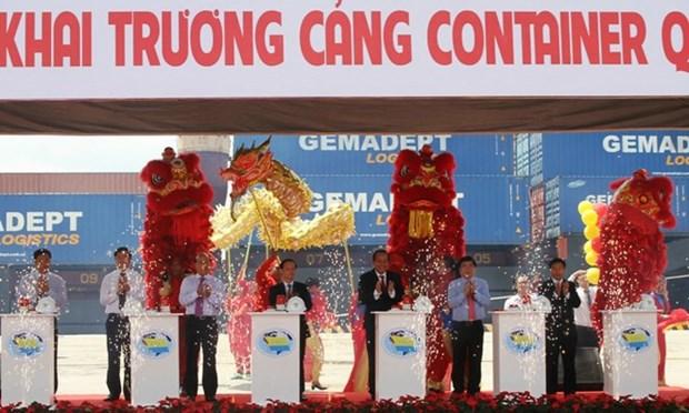 胡志明市SP-ITC国际集装箱港口正式投运 hinh anh 1