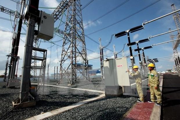 越南沿海热电厂1号机组即将并网发电 hinh anh 1