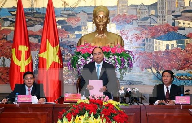 越南政府总理阮春福:将海防市建设成为智慧宜居城市 hinh anh 1