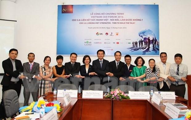 千余位企业家将出席2016年越南企业领导论坛 hinh anh 1