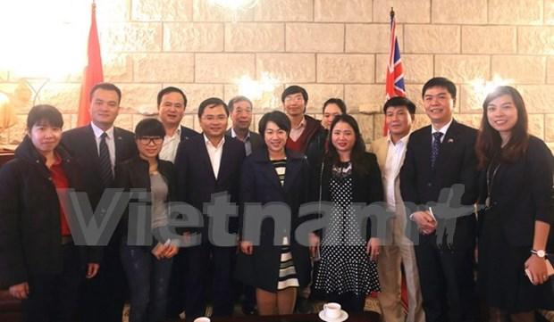 加强海外越南青年大学生协会与国内社团组织之间的沟通与交流 hinh anh 1