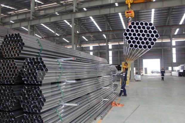 越南钢铁出口量猛增 hinh anh 1