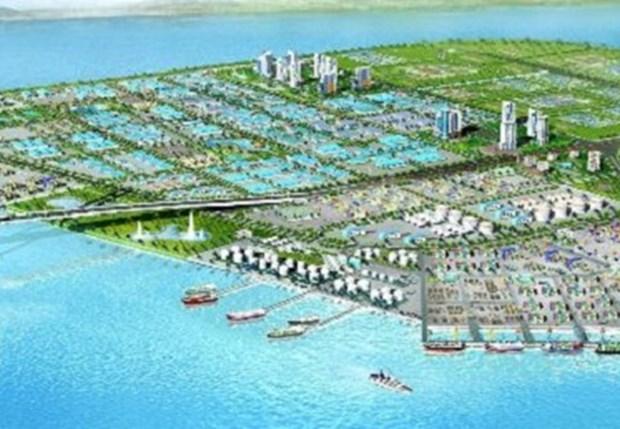 政府总理批准投资兴建广宁省莫朝潭工业区与海港综合体项目 hinh anh 1