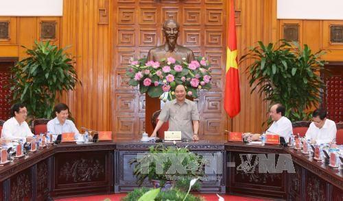 阮春福总理:薄辽省应实现资金来源多样化 推动基础设施建设 hinh anh 1