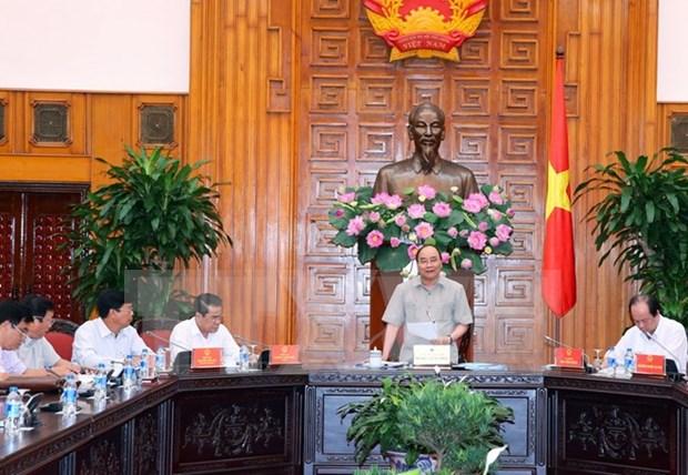 阮春福总理:力争将金瓯省发展成九龙江三角洲中等发达省份 hinh anh 1