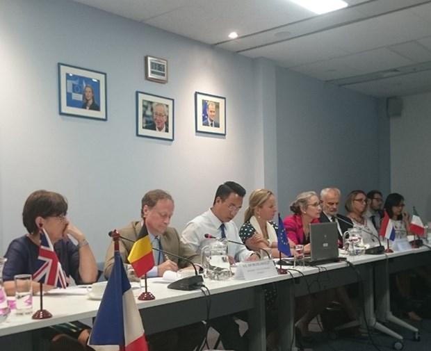 欧洲各国为越南应对气候变化提供援助 hinh anh 1