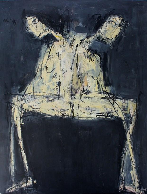 越南革新30年的美术展亮相河内 hinh anh 1