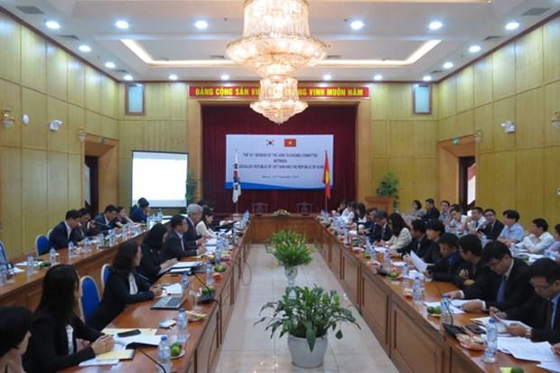 越韩政府间委员会第十五次会议在河内召开 hinh anh 1