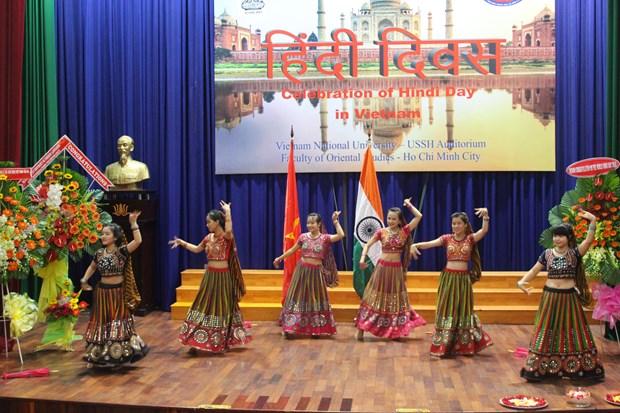 印地语日在越南胡志明市举行 hinh anh 1