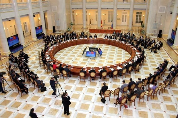 越俄政府间经贸科技合作委员会第19次会议在俄举行 hinh anh 1