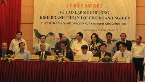 越南为企业营造便利经营环境 hinh anh 1