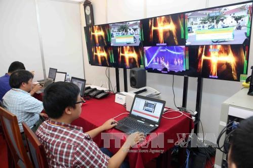 岘港市第5届亚洲沙滩运动会媒体中心正式启用 hinh anh 2