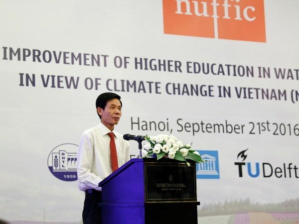 荷兰协助越南提高自然资源与环境领域人力资源培训工作质量 hinh anh 1