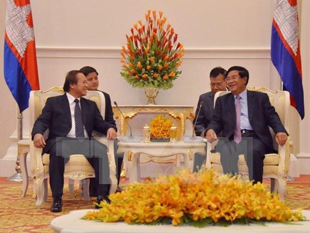 越南与柬埔寨加强信息与传媒领域合作 hinh anh 1