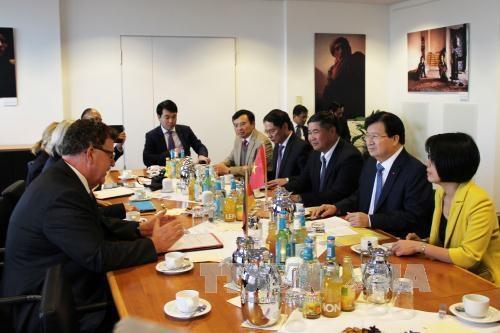 越南政府副总理郑廷勇:越南十分重视越德战略伙伴关系 hinh anh 1