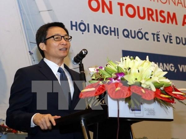 武德儋副总理出席旅游与体育国际会议 hinh anh 1