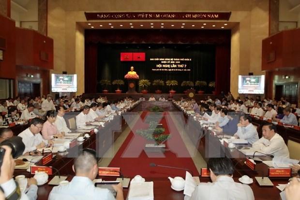胡志明市将采取突破性措施来实现7大突破计划 hinh anh 1