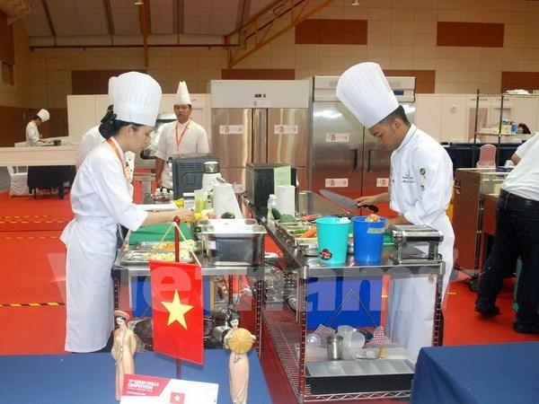 越南44名选手参加第十一届东盟技能大赛 hinh anh 1