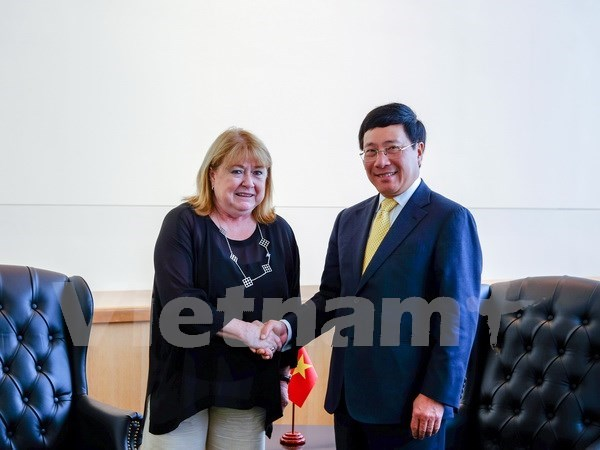 范平明副总理与阿根廷和意大利领导举行会晤并出席东盟外长非正式会议 hinh anh 1