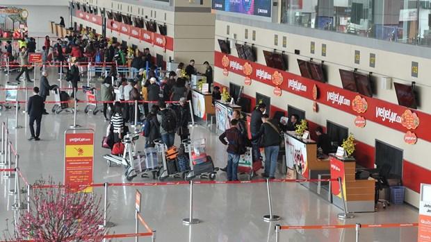 越捷航空公司推出2017丁酉年春节机票优惠活动 hinh anh 1