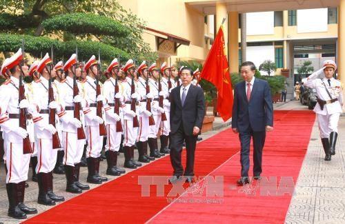 越中两国公安部加强合作 hinh anh 1