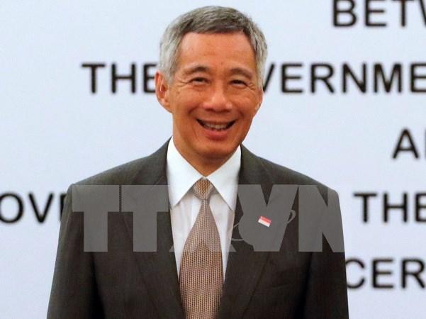 新加坡总理李显龙9月底将访日 hinh anh 1