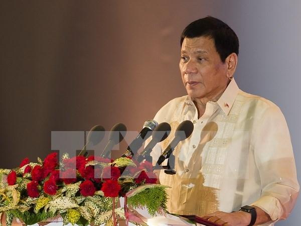 菲律宾总统希望与俄中加强合作关系 hinh anh 1