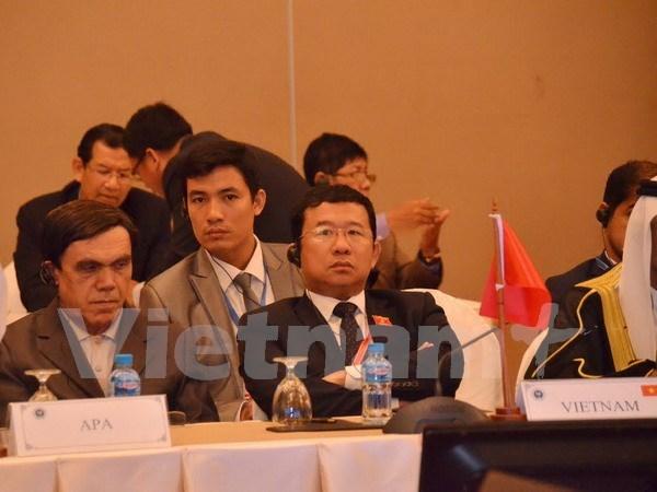 亚洲议会大会为振兴经济与结束灾害作出积极贡献 hinh anh 1