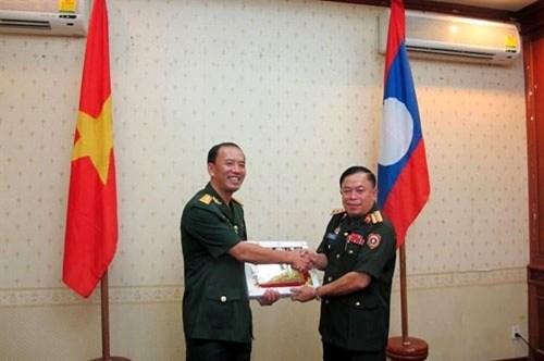 2016年越老年轻军官交流活动正式启动 hinh anh 2