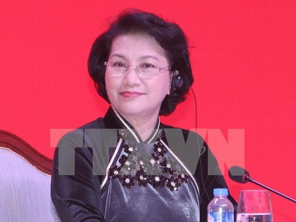 老挝媒体:阮氏金银主席访老有助于深化越老两国特殊团结友谊 hinh anh 1