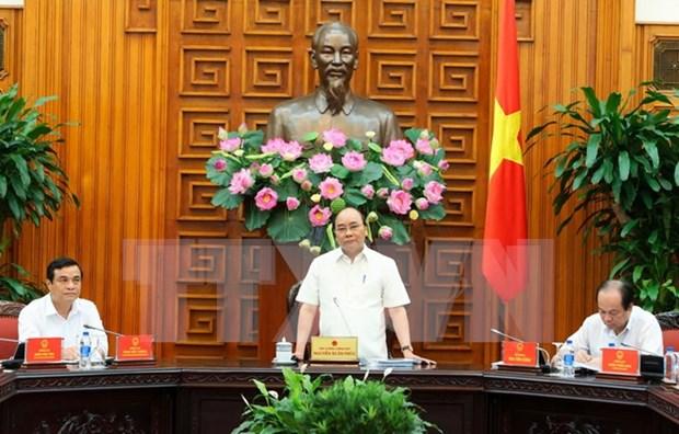 阮春福总理:将广南省建设成为快速、全面和可持续发展的典范模式 hinh anh 1