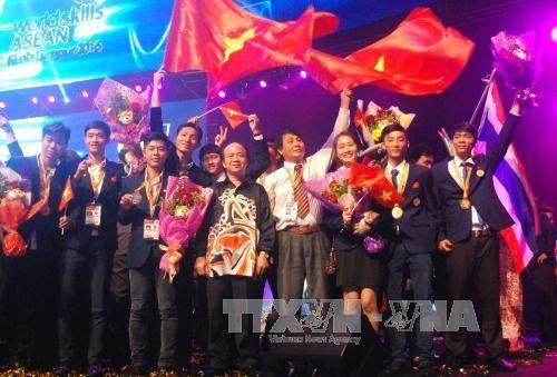 越南在第11届东盟技能大赛排名第三 hinh anh 1