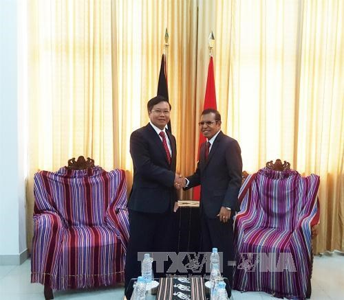 东帝汶希望学习借鉴越南促进国家发展经验 hinh anh 1