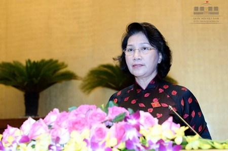 越南国会发挥国家在多边论坛上的作用和地位 hinh anh 1