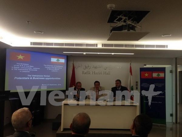 黎巴嫩希望大力促进与越南的经营合作 hinh anh 1