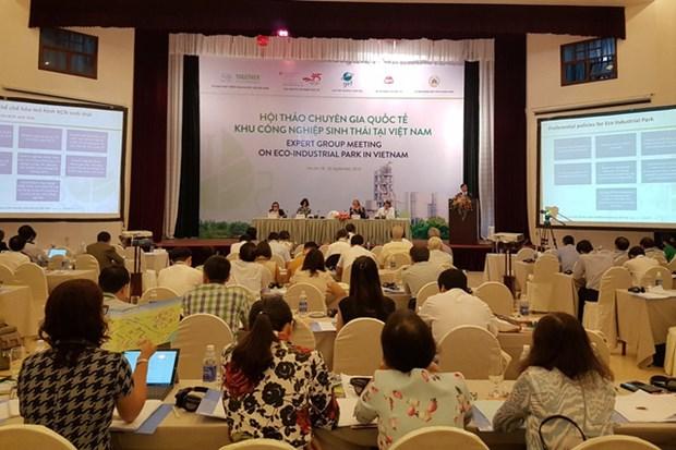 越南致力于建设生态工业园发展模式 hinh anh 1