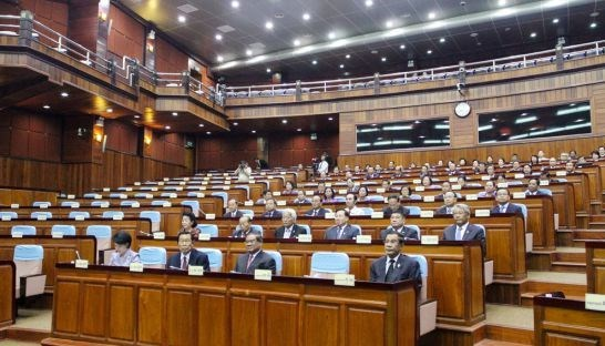 柬埔寨国会不剥夺救国党两名议员的豁免权 hinh anh 1