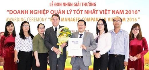 """HD Bank荣获""""最佳企业管理""""奖 hinh anh 1"""