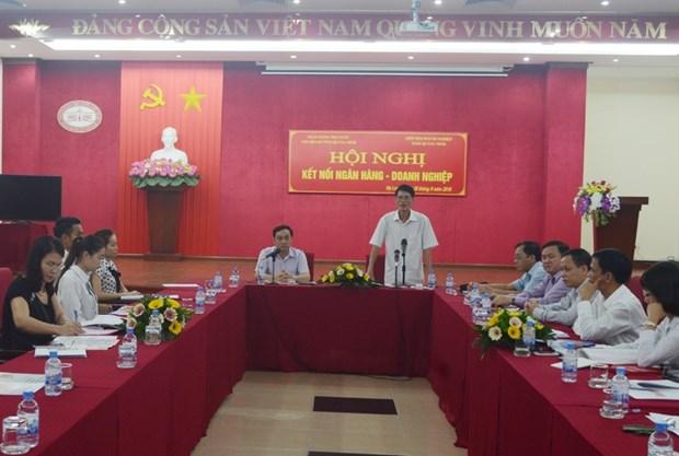 银行与商界对接会首次在广宁省举行 hinh anh 1