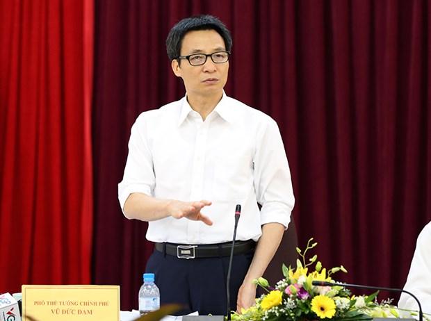越南政府副总理武德儋:大力优化审批流程推动创意和提高国家科技实力 hinh anh 1