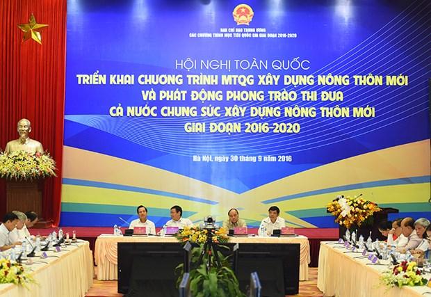 阮春福总理:新农村建设既是一场革命又是一项政治任务 hinh anh 1