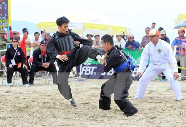 第五届亚洲沙滩运动会:越南体育代表团在奖牌榜上以41金稳坐头名 hinh anh 1