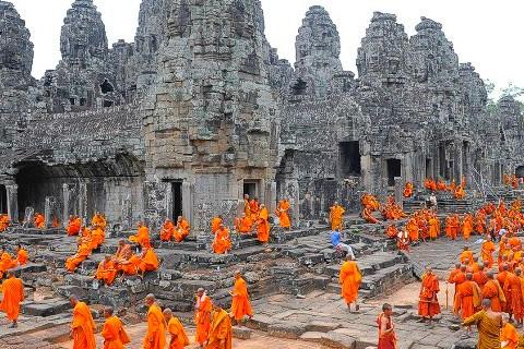 2016年前9月柬埔寨吴哥考古公园接待外国游客数量156万人次 hinh anh 1