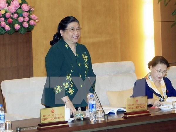 越南与英国立法机关加强合作 hinh anh 1