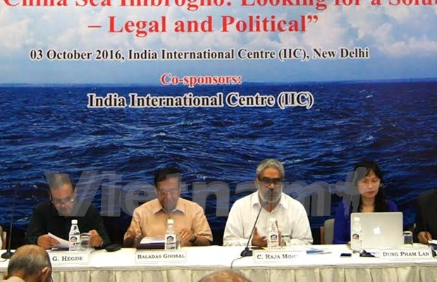"""""""东海复杂局势:寻找一个法律与政治的解决方案""""研讨会在印度举行 hinh anh 1"""