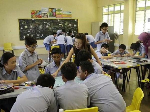 5年来新加坡5000名教师因行政压力而辞职 hinh anh 1
