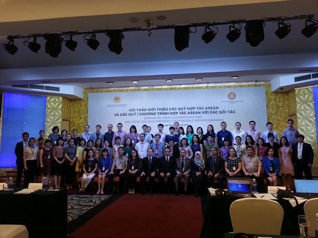 越南与东盟各合作基金之间的合作日益活跃 hinh anh 2