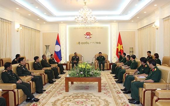 越南人民军总参谋部会见外国客人 hinh anh 1