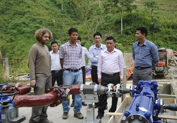 越南河江省努力实现水资源可持续开发利用 hinh anh 1