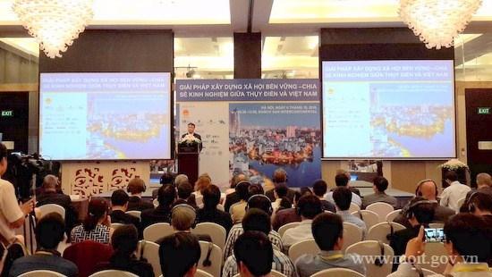 越南与瑞典分享建设可持续发展社会的经验 hinh anh 1